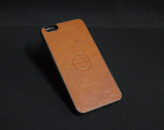 Apple iPhone 6 Plus + - Jimmy Case in Whiskey Tan - Kangaroo leather - Handmade - James Watson