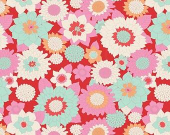 Tilda- Lemon Tree- Boogie Flower- Red
