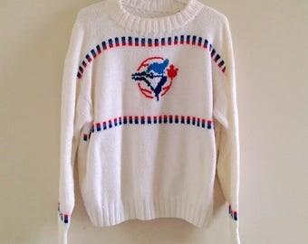 Toronto Blue Jays Vintage Wool Knit Sweater