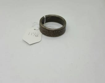 Mexican coin ring  (CR061)