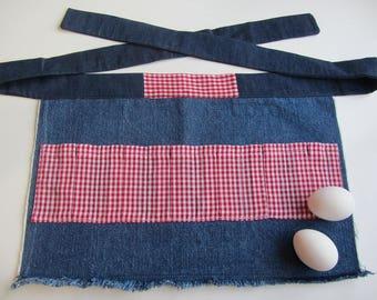 Child's Daisy Duke Egg Gathering Apron