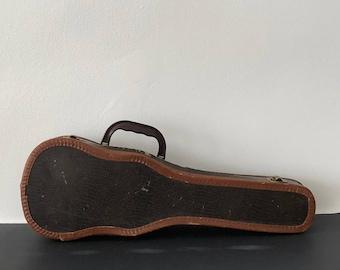 Vintage hard ukele case