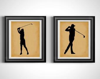 Merveilleux Golf Wall Art | Etsy