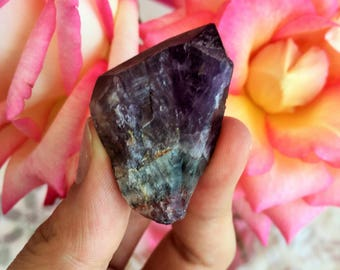 Super Seven Crystal infused w/ Reiki, Melody's Stone Perfect for Healing, Chakras, Meditation