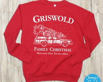 Griswold Family Ugly Christmas Sweater | Christmas Vacation Sweatshirt | Holiday Movie Apparel
