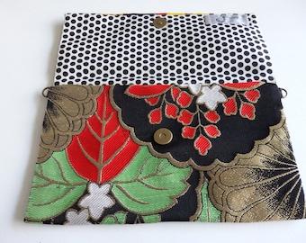 033 HAND MADE Japanese Vintage Kimono Obi Bag