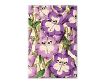 Floral Fridge Magnet, Flowers Magnet, Refrigerator Magnet, Fridge Magnet, Kitchen Decor, Locker Magnet