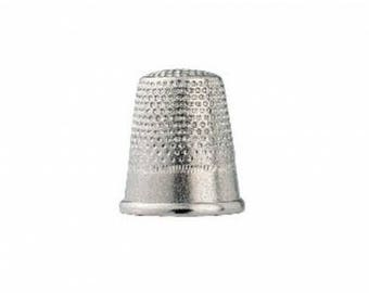 Thimble silver steel 17 mm