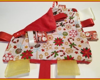 Christmas toy, minkee velvet / cotton
