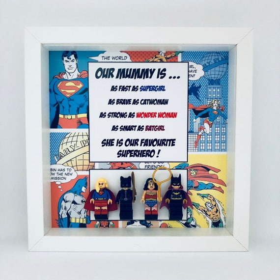 DC Comics 4PC Mummy Minifigure Frame