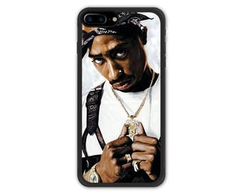 Tupac Shakur iPhone 7 / iPhone 7 Plus Case , iPhone 8 / iPhone 8 Plus Case , iPhone X Case All Eyez On Me 2Pac