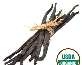 Madagascar Vanilla - Grade A Premium Vanilla Bean - Whole Vanilla Beans - Cooking Gift - xmas gift for women - DIY xmas gifts -Gift for Chef