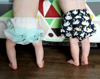 Bloomers or panties puff baby