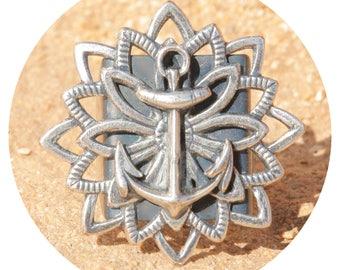 artjany ring anchor Ahoy silver