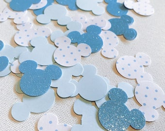 Mickey Mouse Ears Confetti, Mickey Mouse Birthday Party, Disney 1st Birthday Party, Mickey Mouse Party, Mickey Mouse Baby Shower