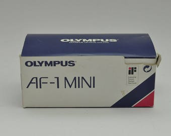 Boxed Olympus AF-1 Mini Point and Shoot Camera