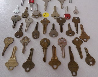 Metal keys for crafters