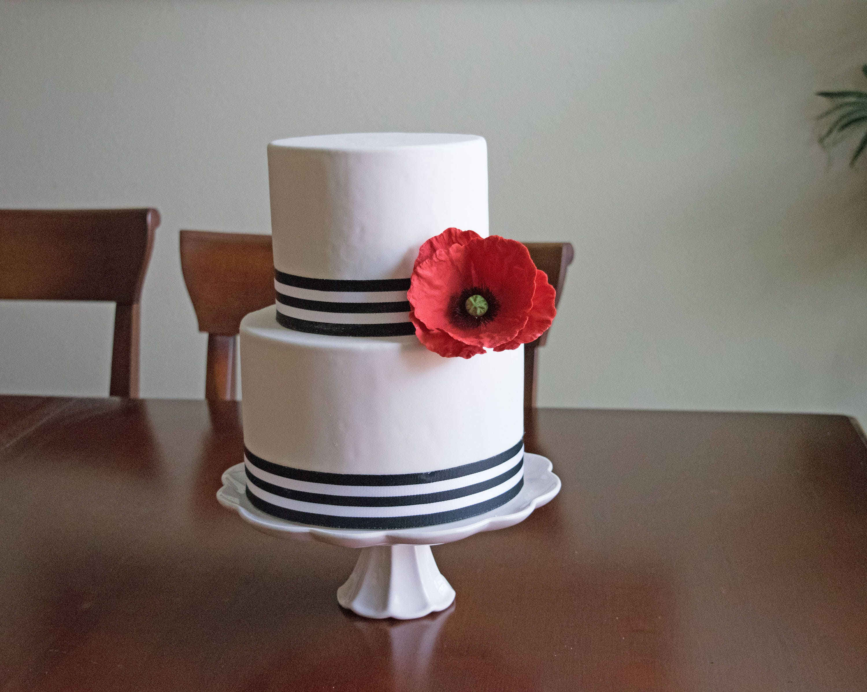 sugar flower wedding cake toppers poppy sugar flower for wedding cake toppers cake 20579