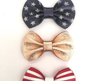 Fourth Of July Mini Bow Pack