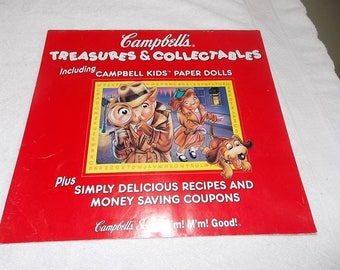 Campbell's Soup 1197 paper dolls calendar- Treasures and Collectibles