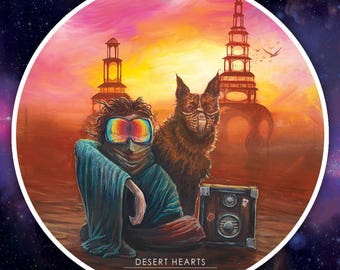 Desert Hearts STICKER
