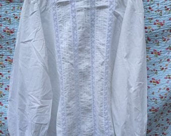 High neck Victorian blouse by Laura Ashley