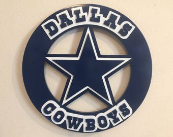 Dallas Cowboys Custom Sheriff's Badge Dak Prescott Zeke Elliott Troy Aikman Emmitt Smith
