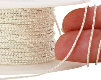 1 FT 0.9 mm Sterling Silver Wheat Chain (SS914)