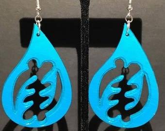 Turquoise Gye Nyame Earrings