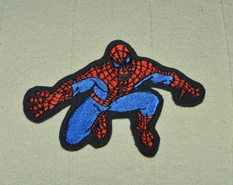 spiderman embroidered patch