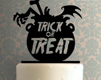 Trick Or Treat Cake Topper 100