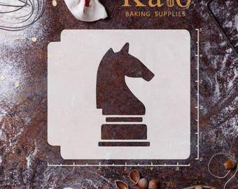 Chess Piece Knight 783-464 Stencil