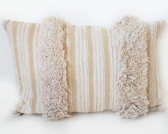 Moroccan handira pillow | Wedding Blanket cushion h48