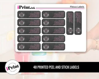 Plexus Labels, Plexus Printed Labels, Plexus Address Labels, Plexus Brochure Labels - PLX-RAL008