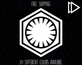 First Order Logo Decal