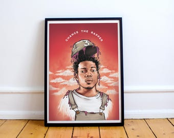 Chance the Rapper art / illustration ( Print / Poster )