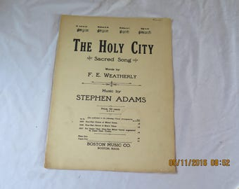 The Holy City (1942) Stephen Adams & F.E. Weatherly