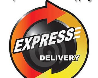 Express international shipping option