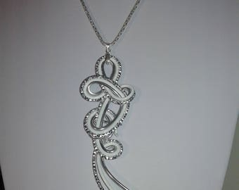 aluminum zerphal necklace