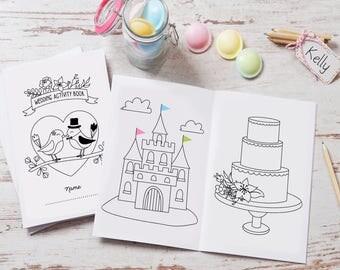 Wedding Activity Book Love Birds