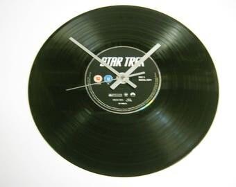 Star Trek Special Unique DVD Record Wall Clock Gift