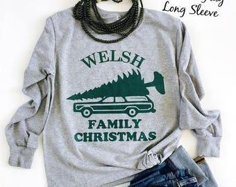 Custom Family Christmas Tees