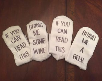 """Socks - """"If you can read this..."""""""