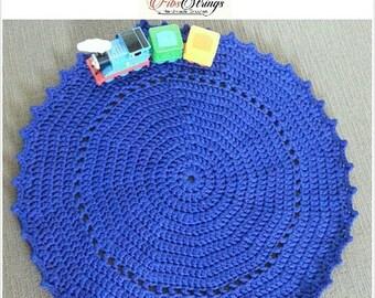 RTS 20% 86cm Rug | RTS| Handmade Crochet Round Rug | Crochet Rug | 34inches Rug