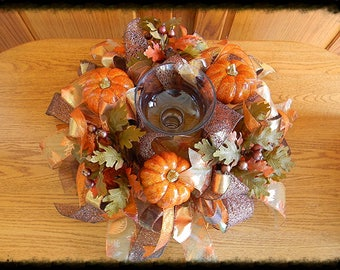 Fall Table Centerpiece, Thanksgiving Centerpiece, Fall Table Decorations, Thanksgiving Table Decor, Autumn Table Decor, Pumpkin Centerpiece