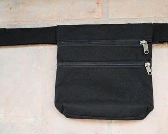 Model Basic Unisex waterproof fabric Fanny Pack