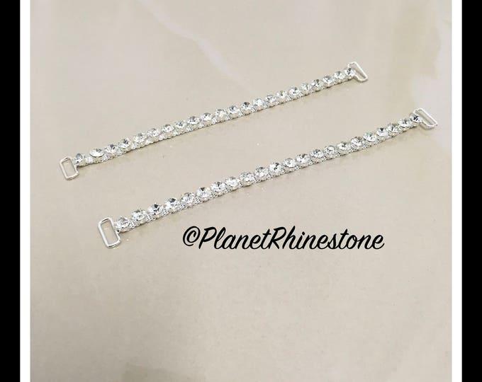Rhinestone Bikini Connector Pair #B-5