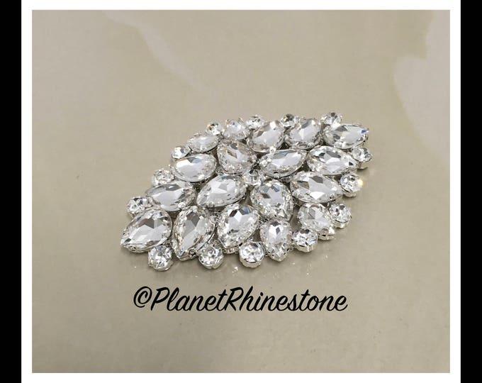 Small Rhinestone Applique (Swarovski shine) #A-1