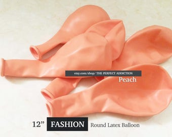 """12"""" ROUND FASHION Color Latex Balloons / Premium Quality / Party Decor / Party Balloons"""