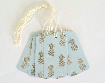 Decor pineapple tags creating my little stationery gift tags